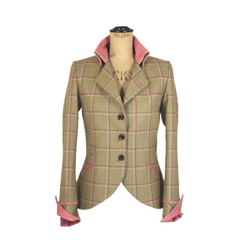 Isla Tweed Jacket in Gooseberry