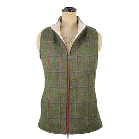 Luna Tweed & Fleece Gilet