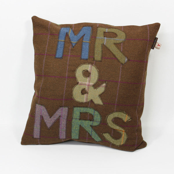 Mr & Mrs Tweed Cushion