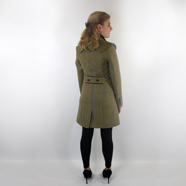 Melody Tweed Jacket in Amber