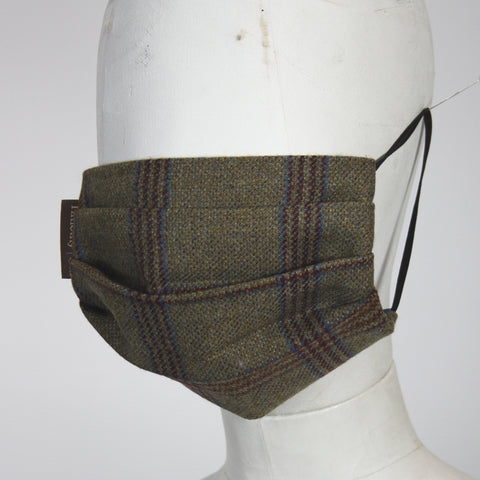 Face Mask in Highlander Tweed