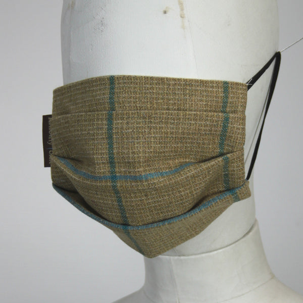 Face Mask in New Lagoon Tweed