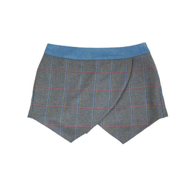 Tweed Skort in Igloo