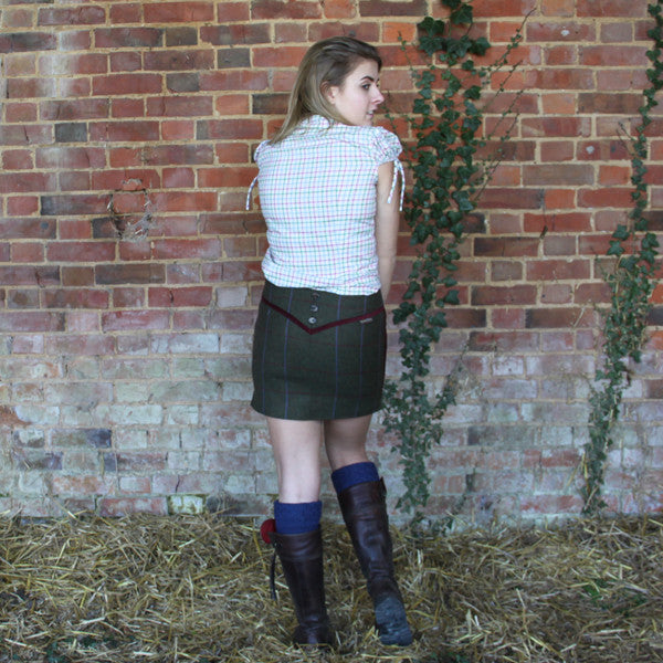 Verity Tweed Skirt in Duchess