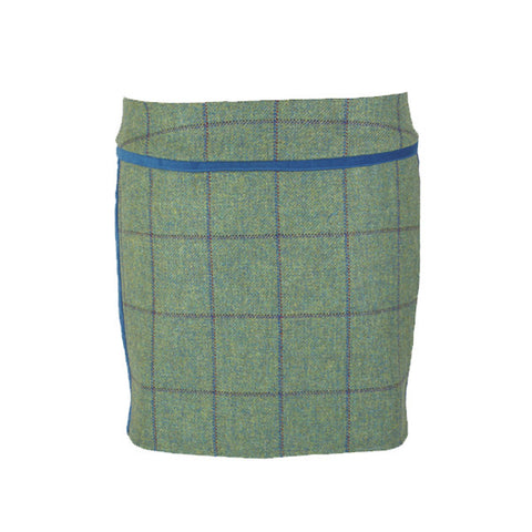 Verity Tweed Skirt in Eliza Blue