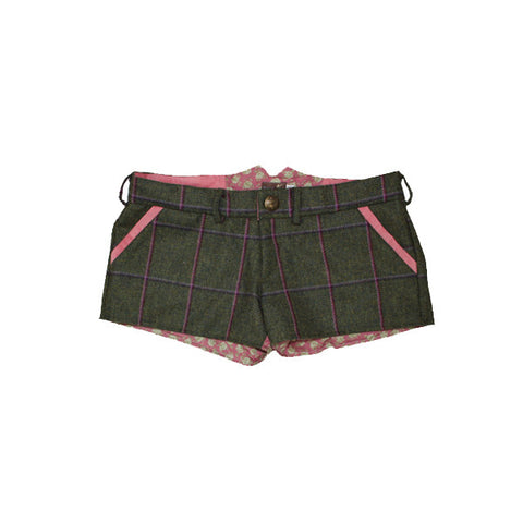 Livibum Tweed Shorts in Belle Roses