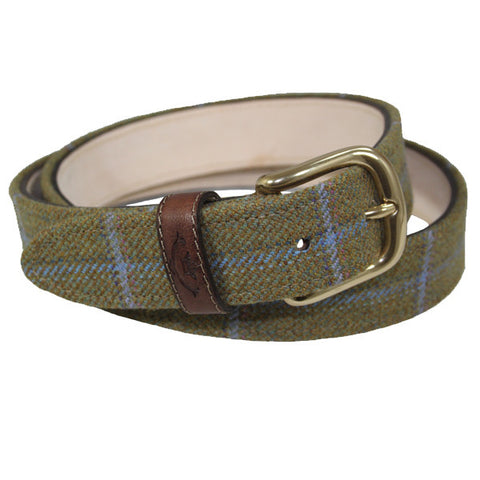 Tweed Belt in Amber