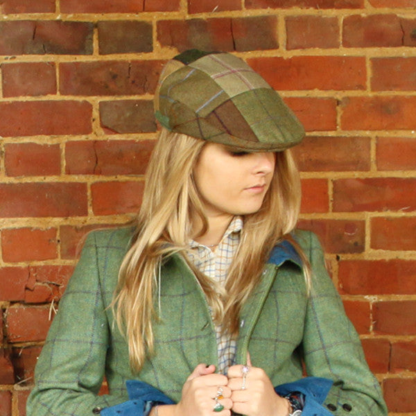 Gregory Patchwork Tweed Flatcap