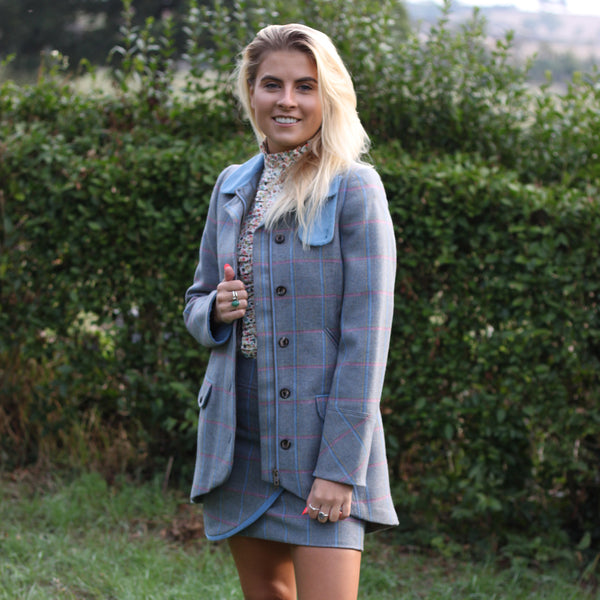 Catherine Tweed Jacket in Igloo
