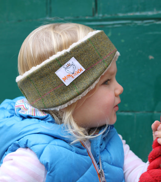 Children's Earwarmer in Coral