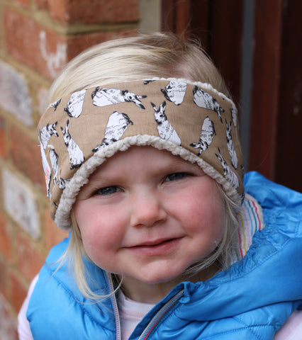 Children's Earwarmer in Hares