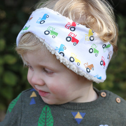 Children's Earwarmer in Tractors