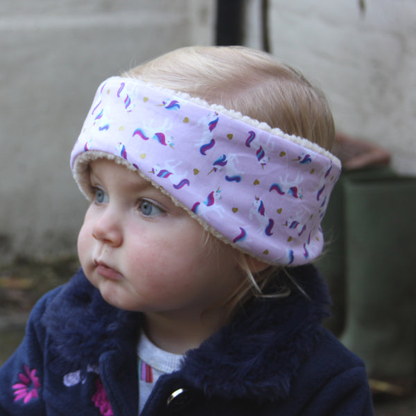Children's Earwarmer in Unicorn