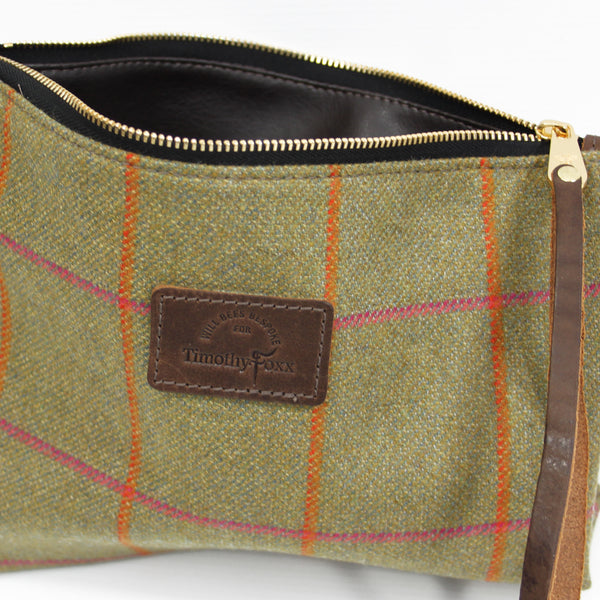 Clutch Bag in Juno Tweed