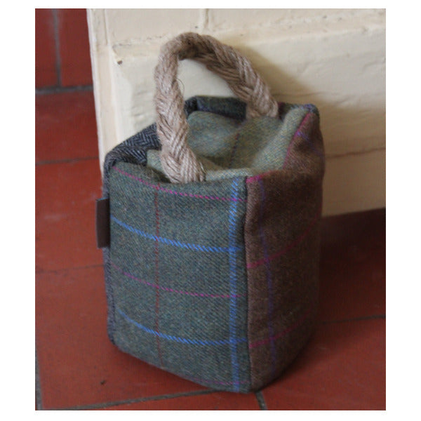 Tweed Door Stop