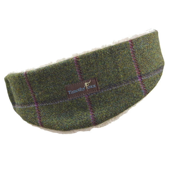 Tweed Ear Warmers in Belle