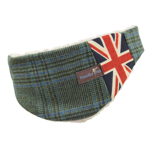 Tweed Ear Warmers - for the Guys in Ocean