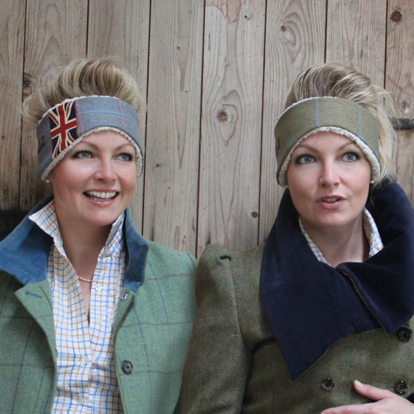 Tweed Ear Warmer in Brassica
