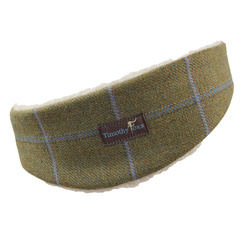 Tweed Ear Warmer in Amber