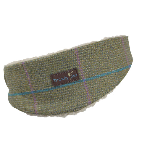 Tweed Ear Warmer in Bubblegum