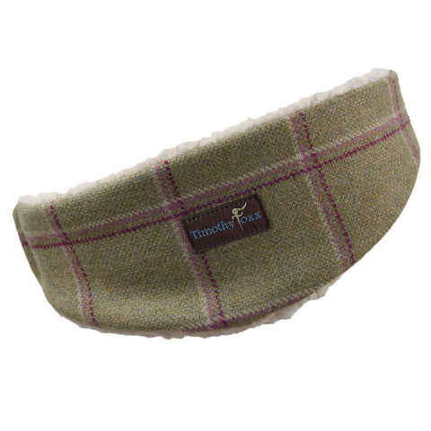 Tweed Ear Warmer in Gooseberry