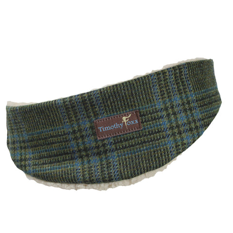 Tweed Ear Warmer in Ocean