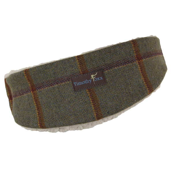 Tweed Ear Warmer in Pumpkin