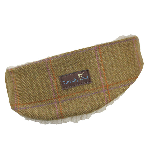 Tweed Ear Warmer in Sandy