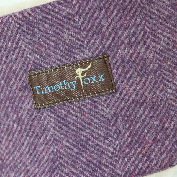 Tweed Ear Warmer in Thistle
