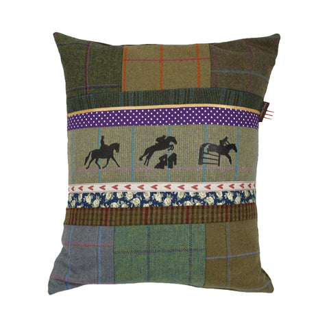 Eventing Tweed Cushion