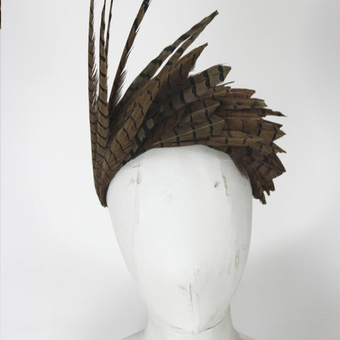 Pheasant Feather Headpiece