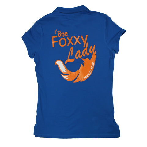 I'm One Foxxy Lady Polo - Ltd Edition Royal