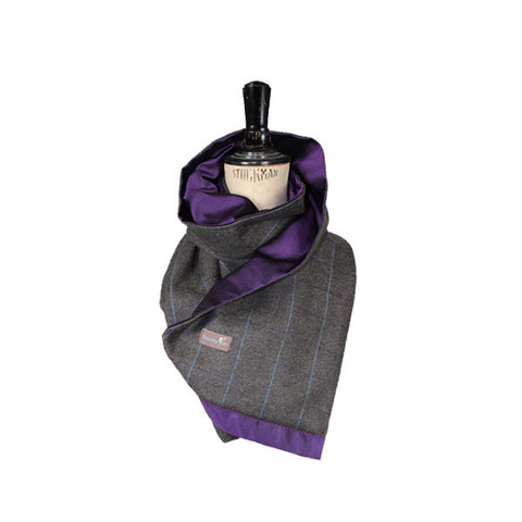 Deluxe Tweed and Silk Scarf