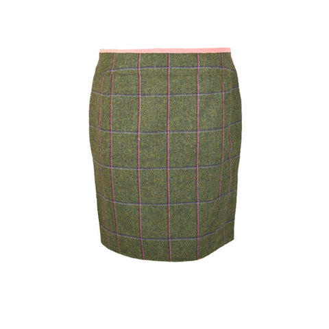 Hazel Tweed Skirt in Belle
