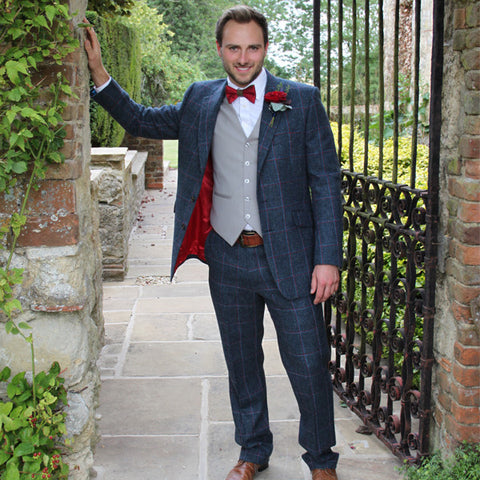 Mens Made to Measure Tweed Suits