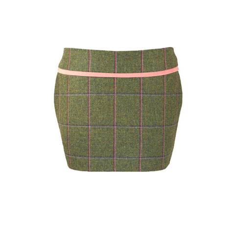 Holly Tweed Skirt in Belle