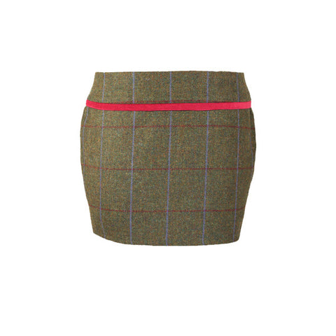 Holly Tweed Skirt in Duchess