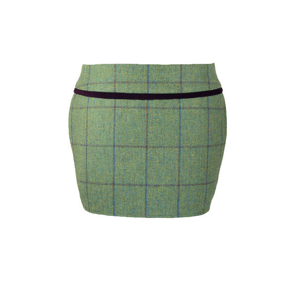 Holly Tweed Skirt in Eliza
