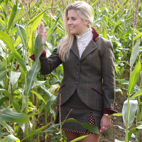 Isla Tweed Jacket in Duchess