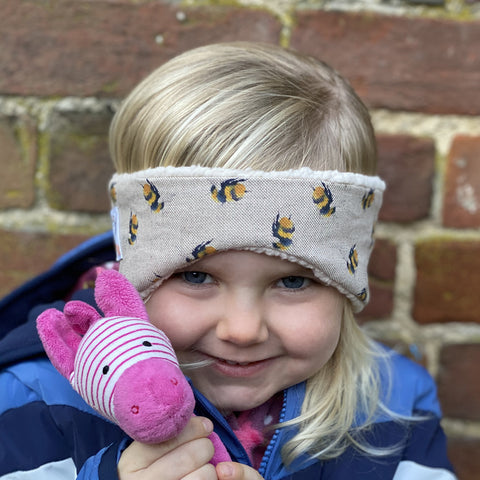 Children's Earwarmer in Bumblebee