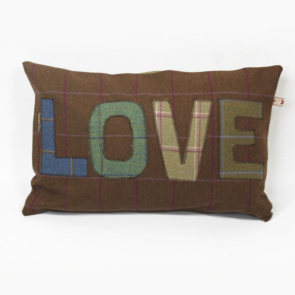 Love Tweed Cushion