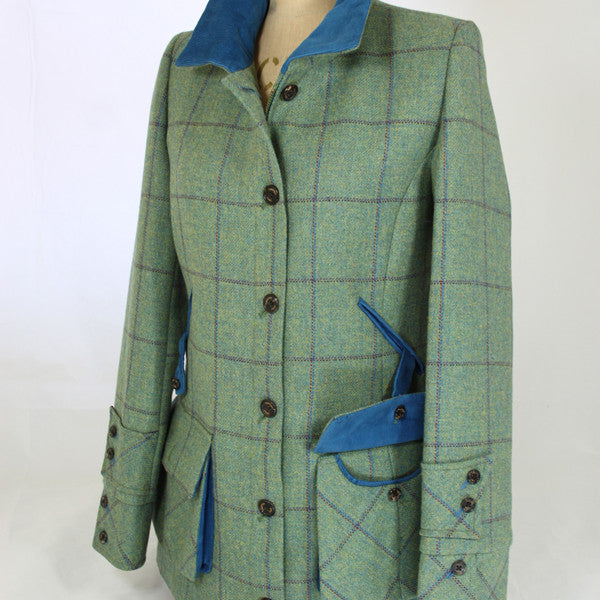 Mazie Tweed Jacket in Eliza