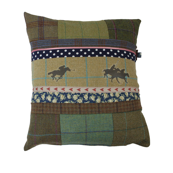 Polo Tweed Cushion
