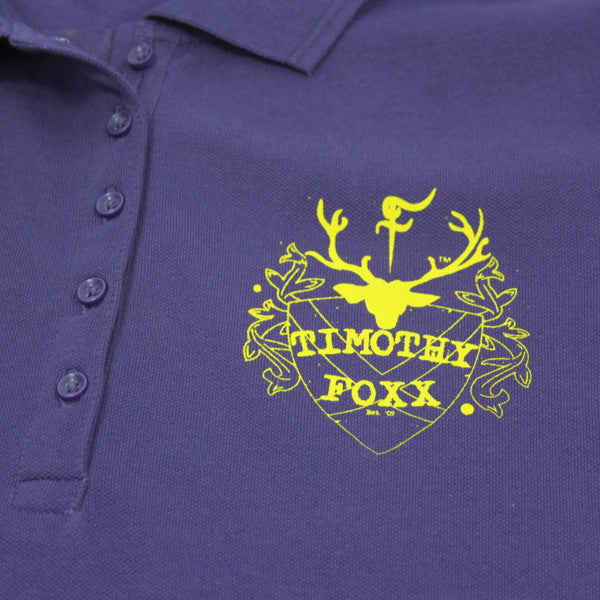 Damn Shame Purple Polo