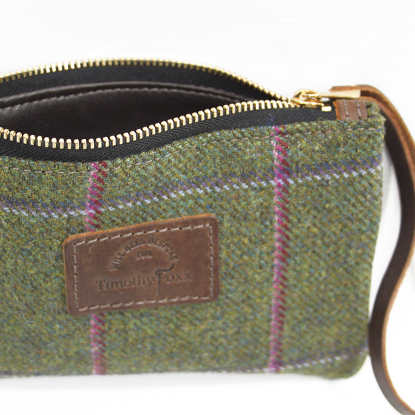 Mini Tweed Pouch in Belle