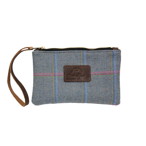 Mini Tweed Pouch in Igloo