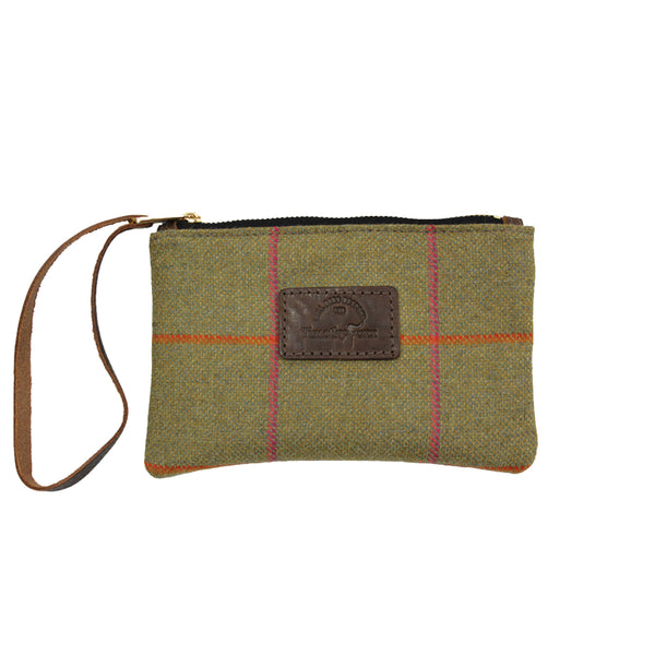 Mini Tweed Pouch in Juno