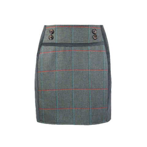 Ruby Tweed Skirt in Harmony
