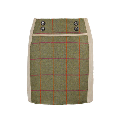 Ruby Tweed Skirt in Juno