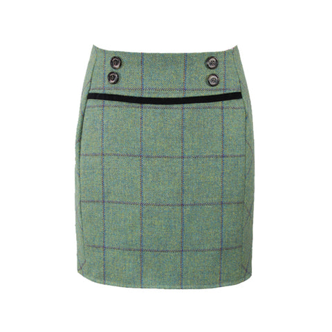 Ruby Tweed Skirt in Eliza